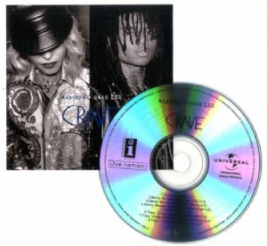 CRAVE (feat SWAE LEA) - REMIXES (8  TRACK) UNIVERSAL PROMO CD